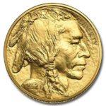 2021 1 oz American Gold Buffalo Coin Obverse