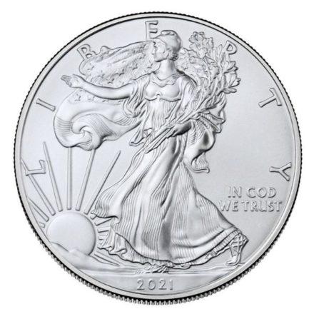 2021 1 oz American Silver Eagle Coin