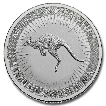 2021 1 oz Australian Platinum Kangaroo Coin (1)