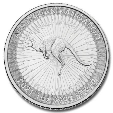 2021 1 oz Australian Silver Kangaroo Coin
