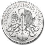 2021 1 oz Austria Platinum Philharmonic Coin