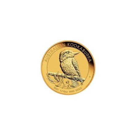 2021 1_10 oz Australia Gold Kookaburra Coin