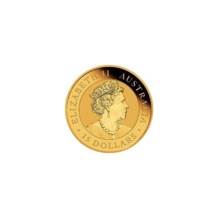 2021 1_10 oz Australia Gold Kookaburra Coin Obverse