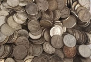 Best Silver Coins For Survival - 90% Junk Silver Dimes
