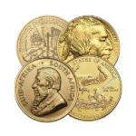 1 oz Gold Coins - Any Mint, Not BU