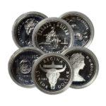 1971-1991 Canadian 50% Silver Dollar