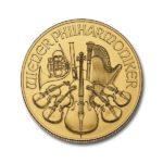 2021 1_2 oz Austria Gold Philharmonic Coin