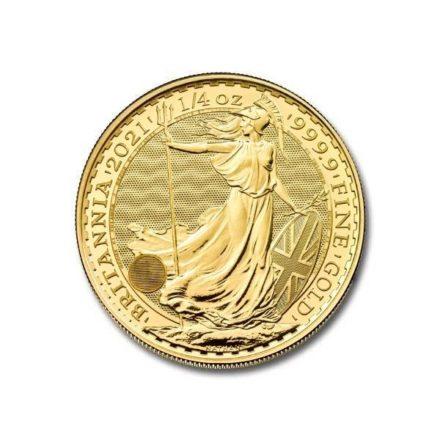 2021 1_4 oz British Gold Britannia Coin