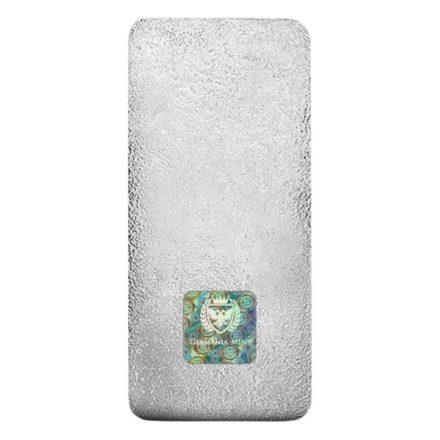 Germania Mint 1 Kilo Cast Silver Bar Reverse