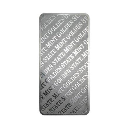 Golden State Mint 10 oz Silver Bar 2