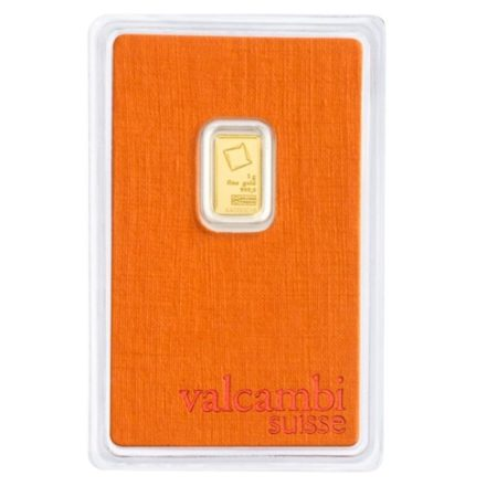 Valcambi 1 gram Gold Bar