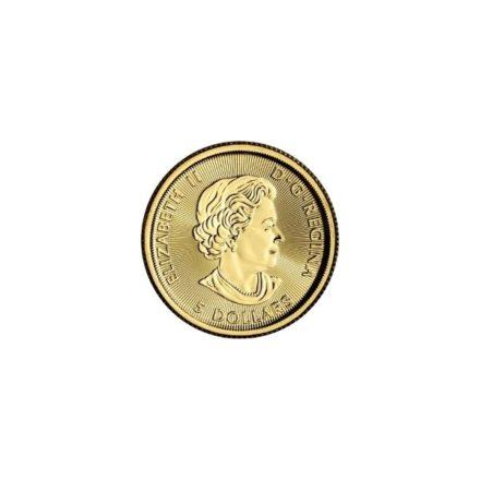 2018 1_10 oz Canadian Gold Polar Bear Coin Effigy