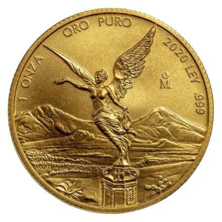2020 1 oz Mexican Gold Libertad Coin