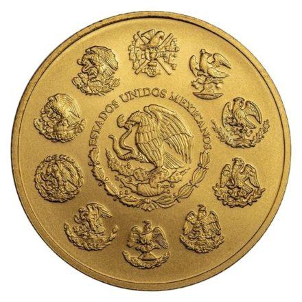 2020 1 oz Mexican Gold Libertad Coin Reverse