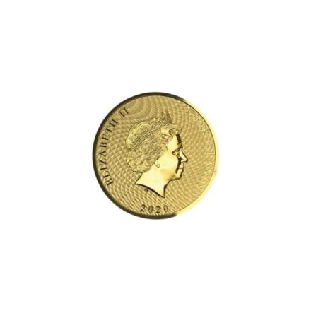 2020 1_10 oz Gold Cook Islands HMS Bounty Coin Effigy