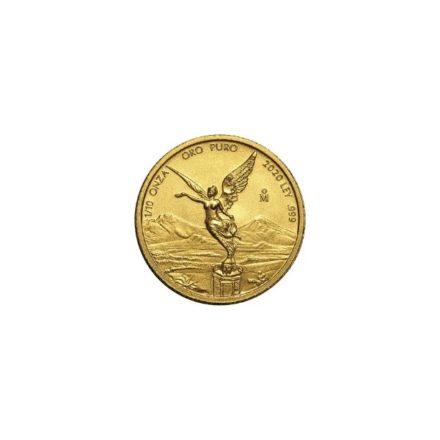 2020 1_10 oz Mexican Gold Libertad Coin
