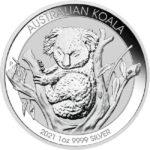 2021 1 oz Australian Silver Koala Coin
