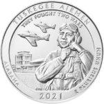 2021 5 oz Silver ATB Tuskegee Airmen Historic Site Coin