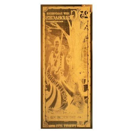 25 New Hampshire Goldback Aurum Gold Note