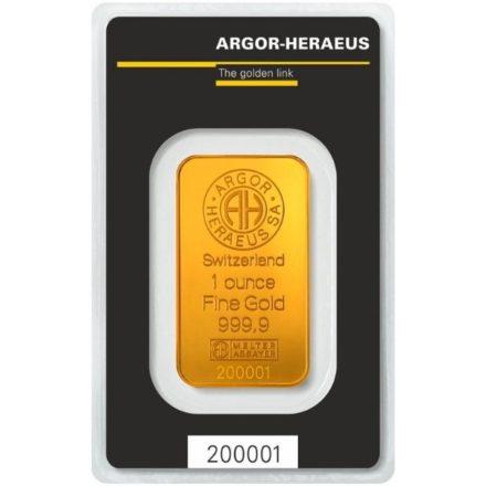 Argor-Heraeus 1 oz Gold Bar