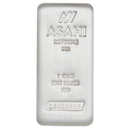 Asahi 1 Kilo Silver Bar
