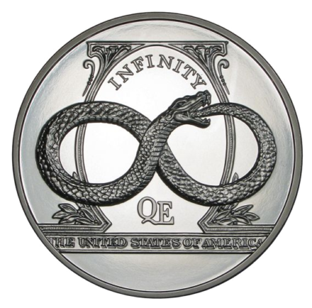 Infinity High Relief Silver - The Awakening Series