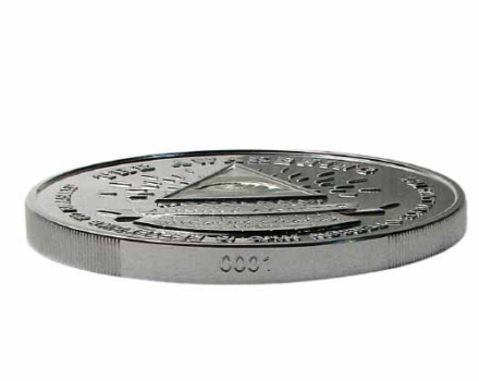 2021 5 oz Infinity High Relief Silver Round