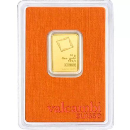 Valcambi 10 gram Gold Bar