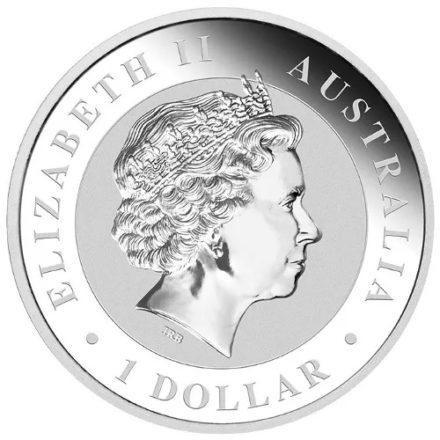 2015 Australian 1 oz Silver Koala Coin Obverse