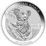 2015 Australian 1 oz Silver Koala Coin reverse
