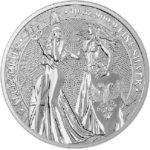 2019 10 oz Silver Germania & Britannia obverse