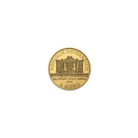 2021 1/25 oz Austria Gold Philharmonic Coin