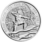 2021 British 1 oz Silver Robin Hood Coin