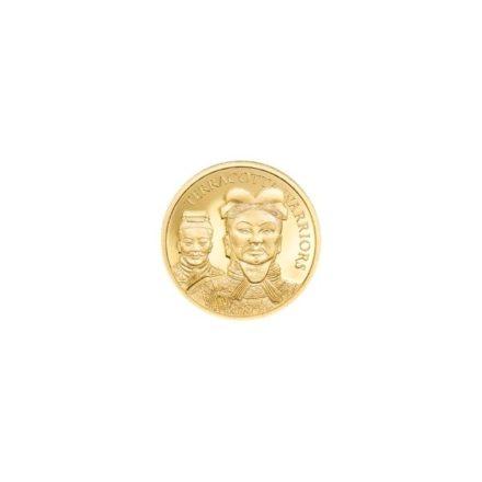 2021 Cook Islands 12 gram Gold Terracotta Warrior