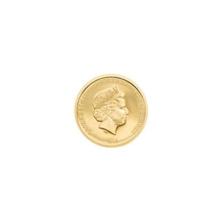 2021 Cook Islands 12 gram Gold Terracotta Warrior Reverse