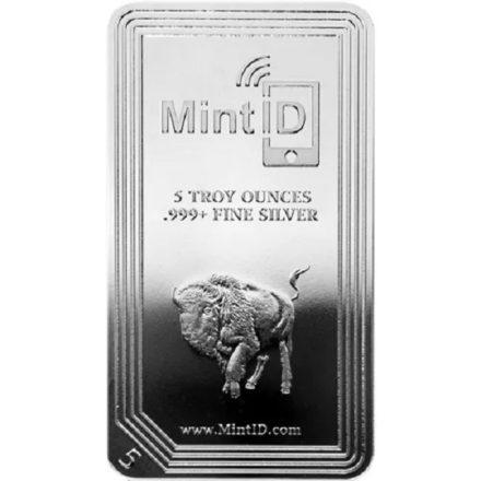 MintID Buffalo 5 oz Silver Bar Obverse