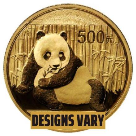 1 oz Chinese Gold Panda Coin- Random Year, Sealed