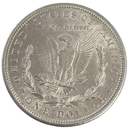 1921 Morgan Silver Dollar Coin - AU Reverse
