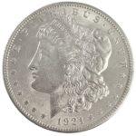 1921 Morgan Silver Dollar Coin - BU