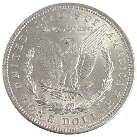 1921 Morgan Silver Dollar Coin - BU Reverse