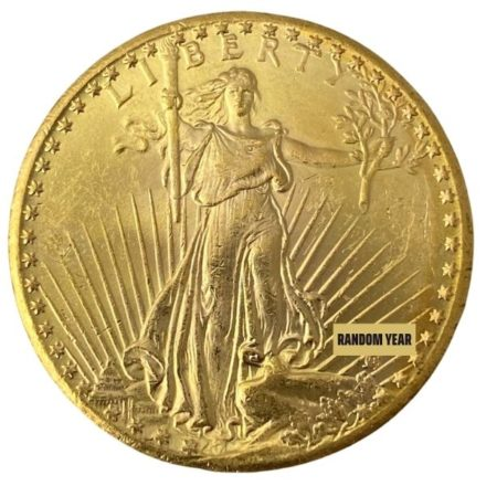 $20 Saint Gaudens Double Eagle Gold Coin BU