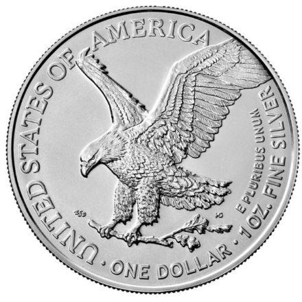 2021 1 oz American Silver Eagle Type 2