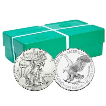2021 1 oz American Silver Eagle Type 2 Monster Box