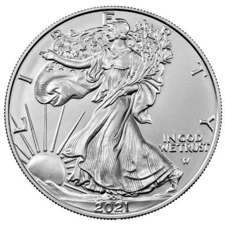 2021 1 oz American Silver Eagle Type 2 Obverse