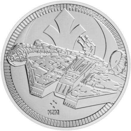 2021 1 oz Niue Millennium Falcon Silver Coin