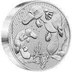 2021 Australian 10 oz SIlver Platypus Coin