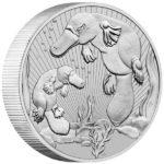 2021 Australian 2 oz SIlver Platypus Coin