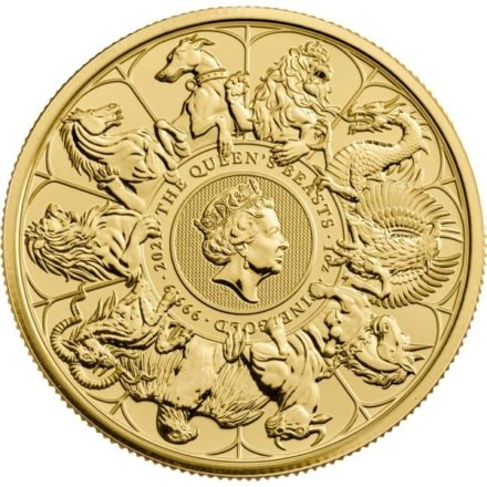 2021 British 1 oz Gold Queen's Beasts Completer Coin
