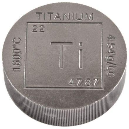 Elemental 1 Pound Titanium Round