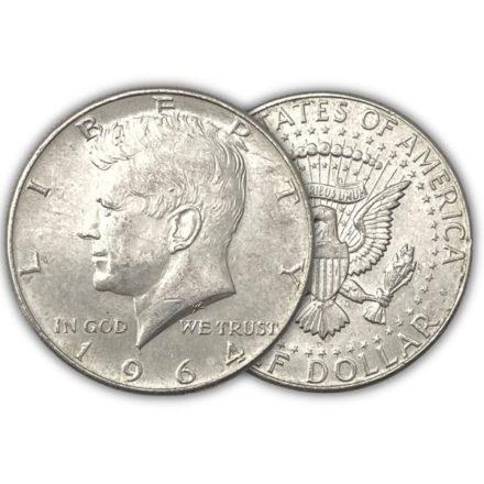 Junk 90% Silver Halves $10 Face Value Roll
